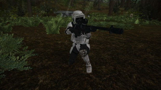 Greetings from Remastered Endor