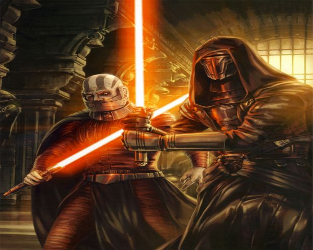 Darth Revan and Darth Malak