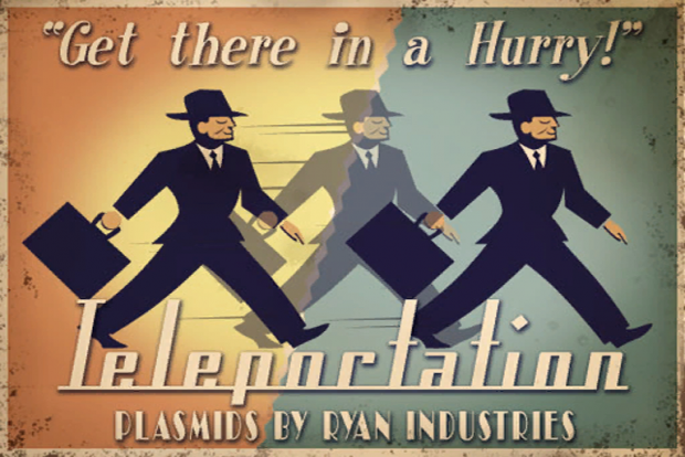 "Bioshock Cut Plasmid ""Teleportation"""