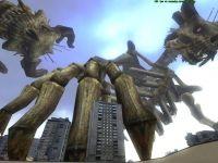 Giant monster attacks!