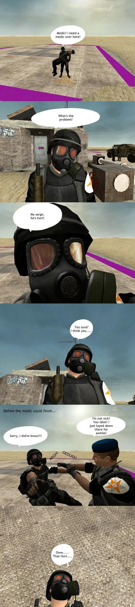 The Stupid CB HECU Soldier