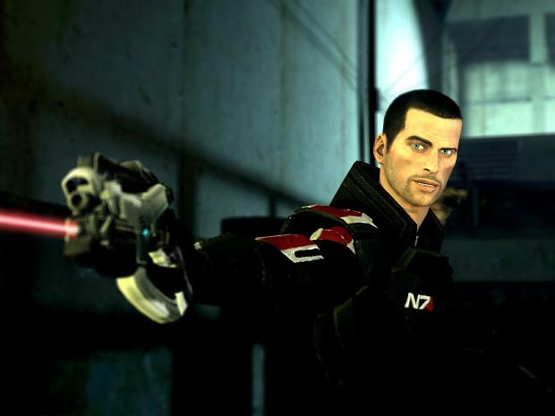 Smug Paragon Shepard