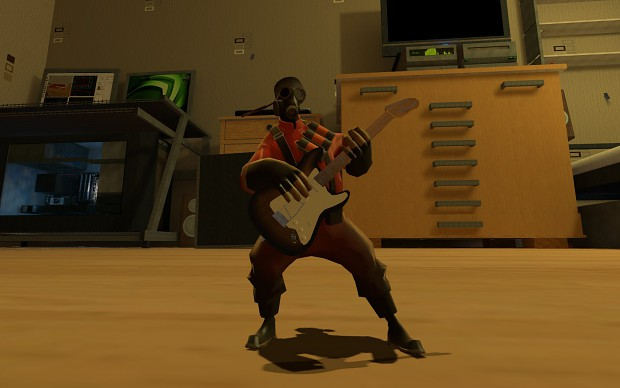 Pyro The Guitar Hero