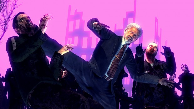 morgan freeman vs zombies