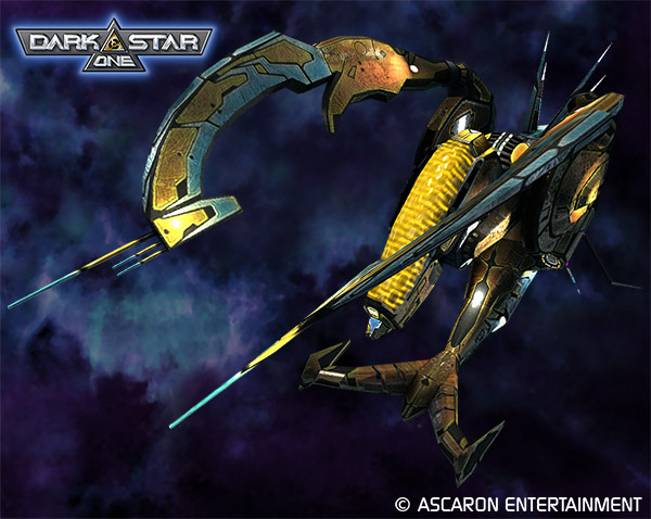 Military fighters of Dark Star One