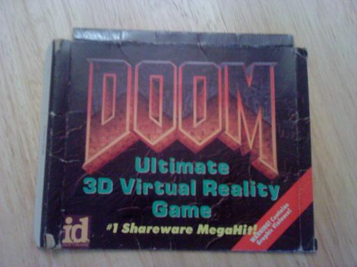 Doom Shareware Box
