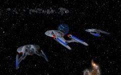 Star Trek Armada I first mission cinematic