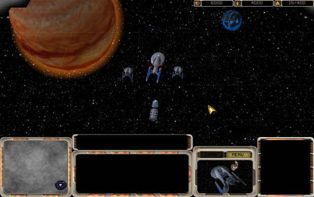 Star Trek Armada Premonitions in widescreen