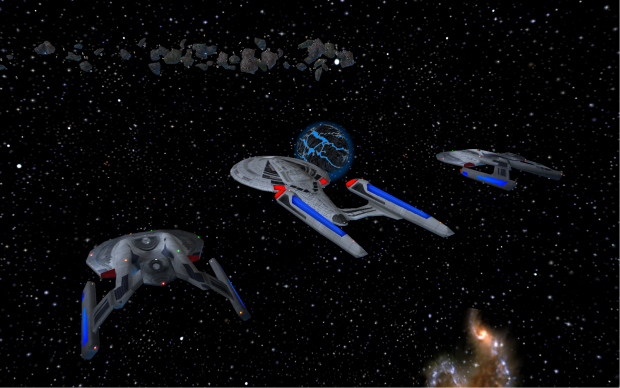 Star Trek Armada I first mission cinematic