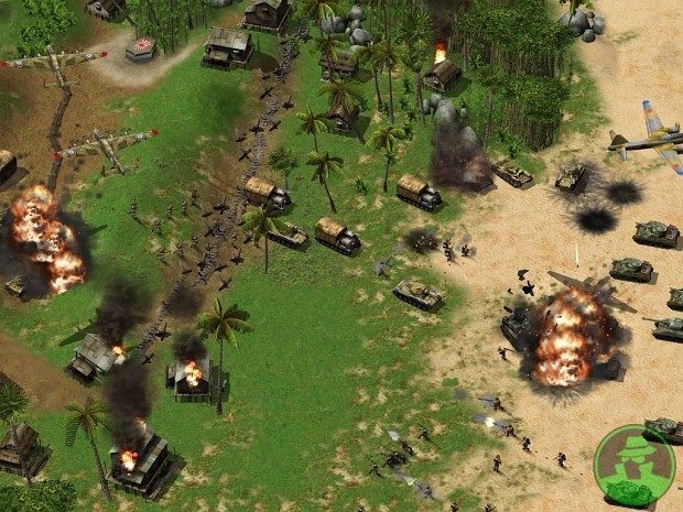 Join allied forces attacking japanese outpost