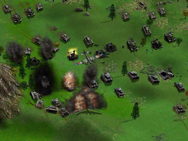 Eeastern front tanks battle