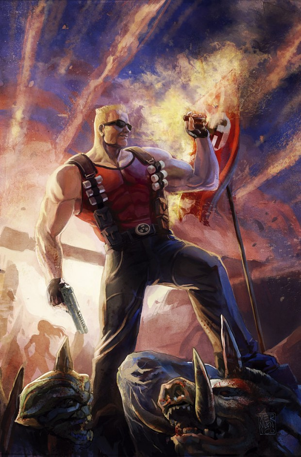 Duke Nukem comic