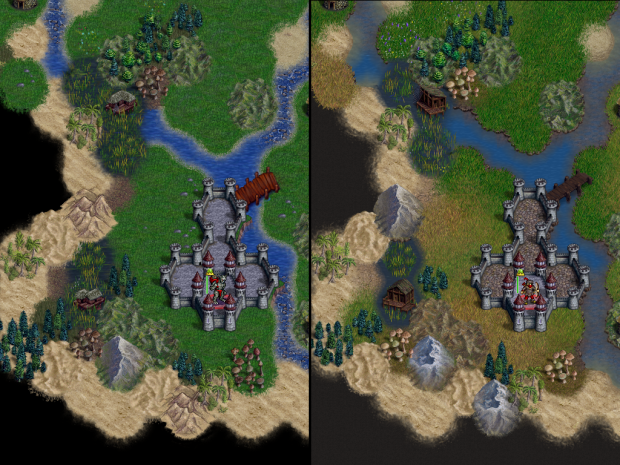 1.8 to 1.10 Terrain Comparison - Isar's Cross