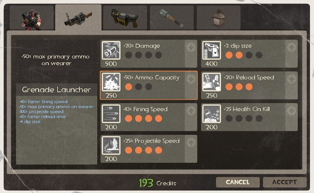 Upgrading your weapons - MvM