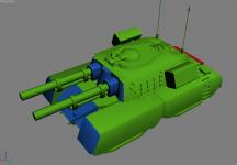 Mammoth Tank armor allocation