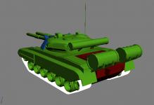 Heavy Tank armor allocation