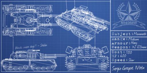 Mammoth Tank Blueprint