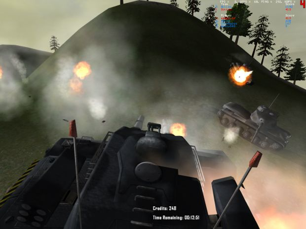 Volcano - Tank Battle