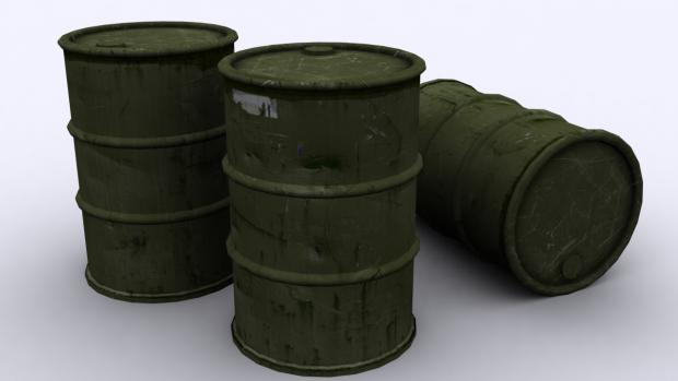 Ubiquitous Explosive Barrels