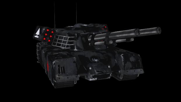 Mammoth Tank Urban Render