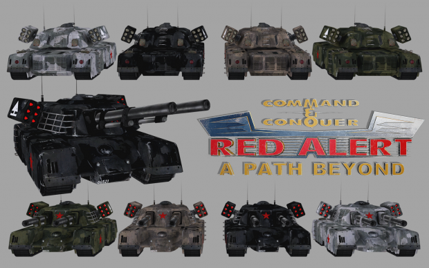 Mammoth Tanks Render