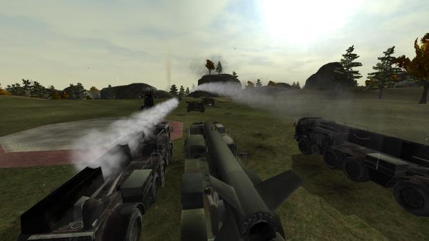 Soviet artillery force