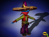 PadCho character model