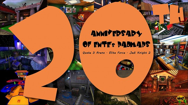 20th Anniversary of ENTE's PadMaps