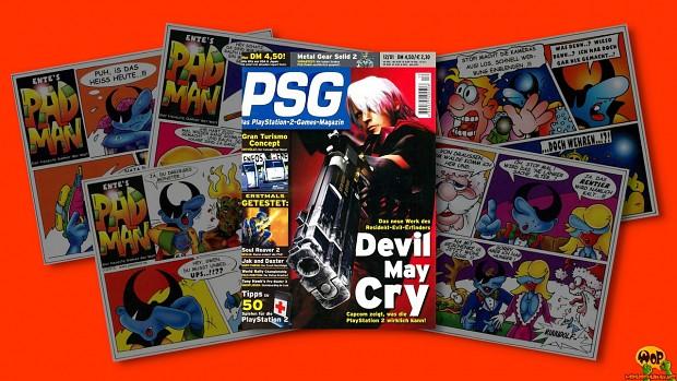 The Padman comic series (1997-2001)