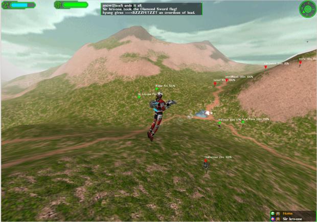 Starsiege: Tribes screenshot.
