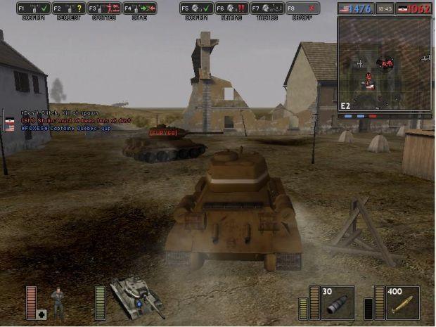 BF1942-tanks