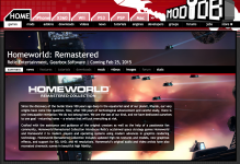Homeworld: Remastered page on ModDB