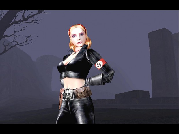 Female SS Paranormal soldier image - Return To Castle
