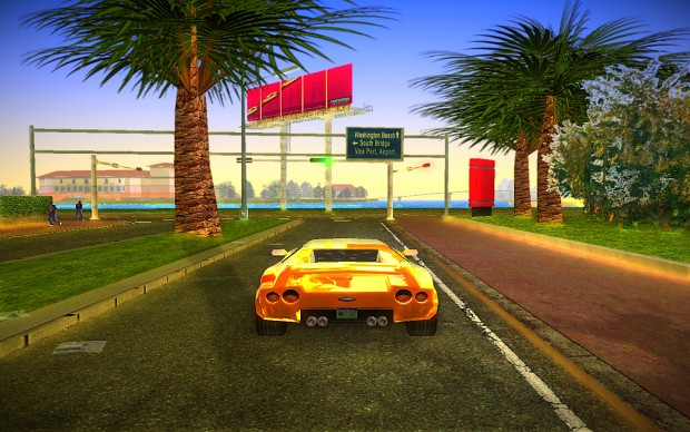 Enhanced Vice City Graphics