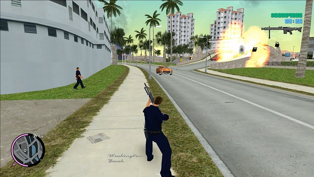 Transformation Vice City 80s to Vice City 90s and 2000s