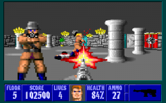 wolfenstein 3D - in game