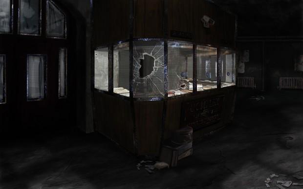 Asylum Entrance Concept