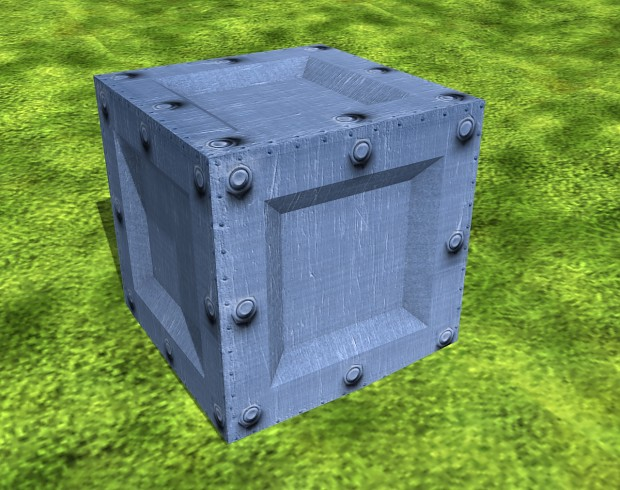 New Metal Crate
