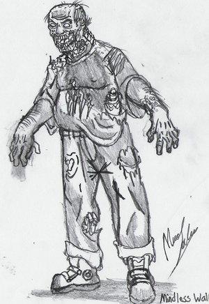 Zombie, Concept Art