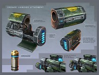 Grenade Launcher Attachment