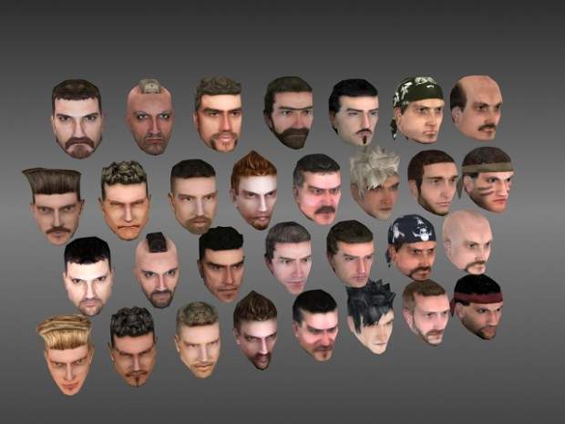 New soldier heads