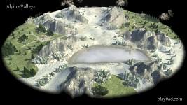Alpine Valleys Skirmish Map
