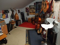 Omri's many instruments