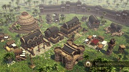 Mauryan Indians - Structures