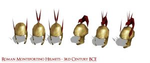 Roman Montefortino Helmets