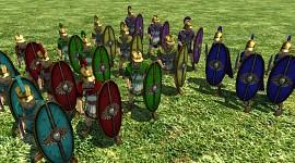 """Seleucid """"Romanized"""" Swordsmen"""