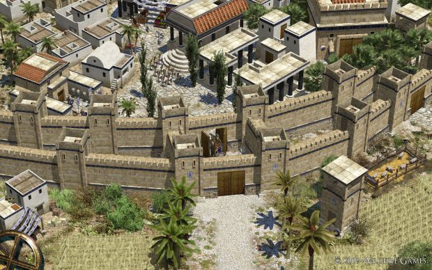 Carthaginian Walls [Widescreen]
