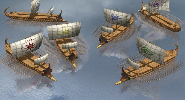 Greek Trireme (Complete)