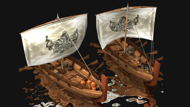 The Persian Merchant ship :: Render