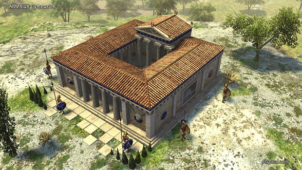 Alpha 14 Preview: Athenian Gymnasion